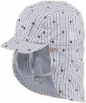 Barts Kids Boyd Cap Gestreift / Blau / Weiß | Größe 47 |  Cap & Hüte