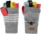 Barts Kids Puppet Bumgloves Grau, 4, Kinder Fingerhandschuh ▶ %SALE 30%