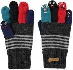 Barts Kids Puppet Gloves Grau | Größe 3 | Kinder Fingerhandschuh