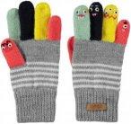 Barts Kids Puppet Gloves Grau, 4, Kinder Fingerhandschuh ▶ %SALE 30%