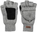 Barts M Haakon Bumgloves Grau | Größe S/M | Herren Fingerhandschuh