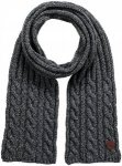 Barts Twister Scarf Schwarz, Male Accessoires, One Size