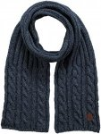 Barts Twister Scarf Blau, Male Accessoires, One Size
