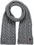 Barts Twister Scarf Grau, Male Accessoires, One Size