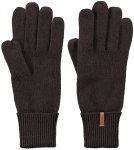 Barts W Fine Knitted Gloves Braun | Damen Fingerhandschuh