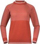 Bergans Alvdal Wool W Jumper Orange | Damen Freizeitpullover