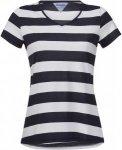 Bergans Bastoy Tee Gestreift, Female Kurzarm-Shirt, L