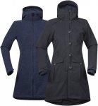 Bergans Bjerke 3in1 Lady Coat Blau / Grau | Größe XS | Damen Regenmantel