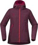 Bergans Cecilie Insulated Jacket Rot | Größe M | Damen Isolationsjacke