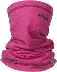 Bergans Cecilie Neck Warmer Pink, Female Merino Accessoires, One Size