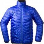 Bergans Down Light Jacket Blau, Male Daunen Daunenjacke, S