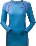 Bergans Fjellrapp Shirt, Bright Sea Blue Blau, XS