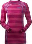 Bergans Fjellrapp Shirt, Hot Pink Striped Gestreift, XS