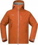 Bergans Haglebu Jacket Orange, Male Freizeitjacke, S