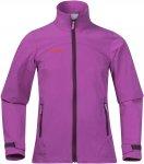Bergans Kleivi Youth Girl Jacket Pink   Größe 128   Damen Softshelljacke