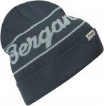 Bergans Logo Beanie Blau | Größe One Size |  Kopfbedeckung