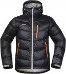 Bergans Memurutind Down Jacket Schwarz, Male Daunen XXL -Farbe Black -Aluminium