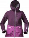 Bergans Myrkdalen Jacket Pink, Female Dermizax™ Regenjacke & Hardshells, L