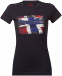 Bergans Norway Lady Tee | Größe XL | Damen Kurzarm-Shirt