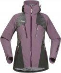 Bergans Oppdal Insulated Lady Jacket Lila | Größe XS | Damen Isolationsjacke