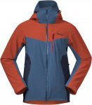 Bergans Oppdal Insulated M Jacket Colorblock / Blau / Rot | Größe XL | Herren