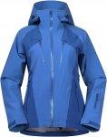 Bergans Oppdal Lady Jacket Colorblock / Blau   Damen Freizeitjacke