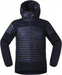 Bergans Osen Down/Wool Jacket Blau | Herren Freizeitjacke