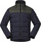 Bergans Oslo Down Light M Jacket Colorblock / Blau / Grün | Herren Daunenjacke