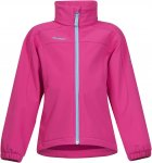 Bergans Reine Kids Jacket Pink | Größe 128 | Kinder Softshelljacke