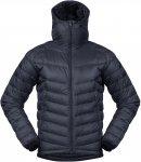 Bergans Slingsby Down Light M Jacket W/Hood Blau | Herren Daunenjacke