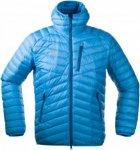 Bergans Slingsbytind Down Jacket W/Hood Blau, Male Daunen Daunenjacke, XXL