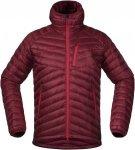 Bergans Slingsbytind Down Jacket W/Hood Rot, Male Daunen Daunenjacke, M