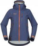 Bergans Storen Jacket Blau, Female Dermizax™ Freizeitjacke, S