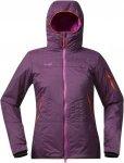 Bergans Surten Insulated Jacket Lila/Violett, Female PrimaLoft® Freizeitjacke,
