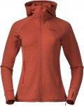 Bergans Ulstein Wool Hood W Jacket Orange | Größe M | Damen Isolationsjacke