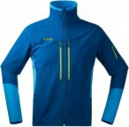 Bergans Visbretind Jacket Colorblock, Male Fleecejacke, L