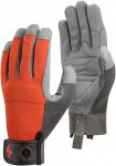 Black Diamond Crag Grau / Orange |  Fingerhandschuh