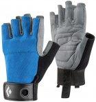 Black Diamond Crag Half-Finger Blau / Grau    Fingerhandschuh
