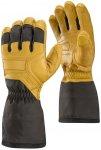 Black Diamond M Guide Glove Braun / Gelb | Größe XS | Herren Fingerhandschuh