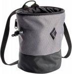 Black Diamond Mojo Zip Chalk Bag, Ash Grey | Größe S/M,M/L |  Kletterzubehör