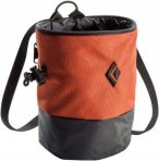 Black Diamond Mojo Zip Chalk Bag, Rust Orange Orange, M/L