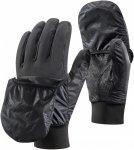 Black Diamond Wind Hood Softshell Glove Schwarz | Größe XL |  Fausthandschuh