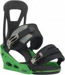 Burton Mens Freestyle Grün-Schwarz, M, Herren Snowboard-Bindung ▶ %SALE 30%