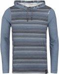 Chillaz M Mellow Stripes Gestreift / Blau | Größe XL | Herren Freizeitpullover
