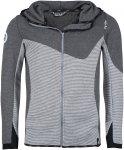 Chillaz M Mounty Jacket Gestreift / Grau | Größe XL | Herren Isolationsjacke