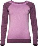 Chillaz Serles Triangle Longsleeve Lila/Violett, Female Langarm-Shirt, 40
