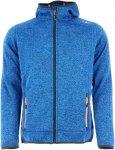 CMP BOY Jacket FIX Hood Knitted Blau, Male Freizeitjacke, 128