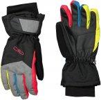 CMP Kids Ski Gloves Schwarz | Größe 5.5 |  Fingerhandschuh