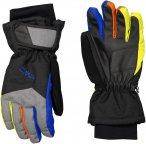 CMP Kids Ski Gloves Schwarz | Größe 5 |  Fingerhandschuh