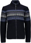 CMP Jacket Norwegian Style B Schwarz, Male 48 -Farbe Black -Blue, 48